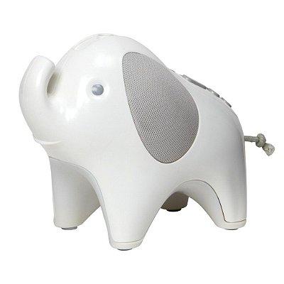 Abajur Infantil com Projetor e USB Moonlight e Melodies Elefante - Skip Hop
