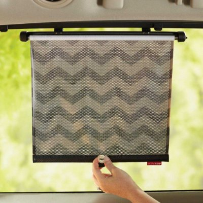 Protetor Solar Retrátil para Carro Window Shade com 02 unidades (On The Go Drive) Chevron - Skip Hop