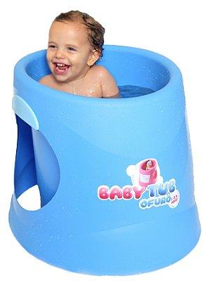 Banheira Ofurô Azul - Baby Tub