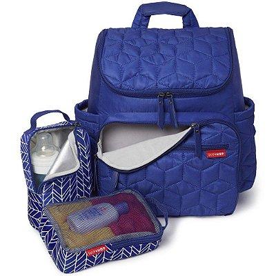 Bolsa Maternidade (Diaper Bag) com Trocador - Forma BackPack (Mochila) Indigo - Skip Hop