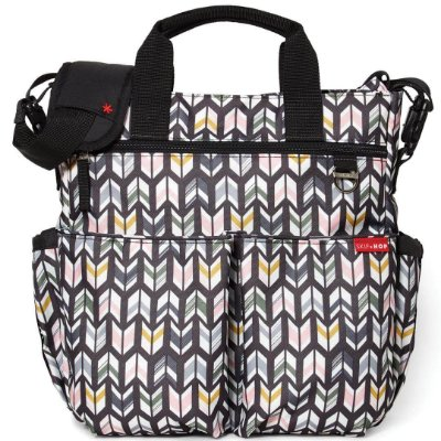 Bolsa Maternidade (Diaper Bag) com Trocador - Duo Signature Arrows - Skip Hop