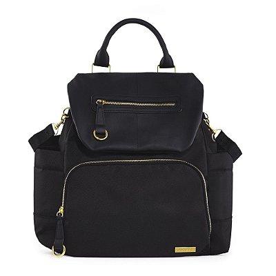 Bolsa Maternidade (Diaper Bag) com Trocador - Chelsea BackPack (Mochila) Black - Skip Hop