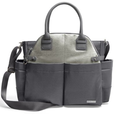 Bolsa Maternidade (Diaper Bag) com Trocador - Chelsea Charcoal Shimmer - Skip Hop