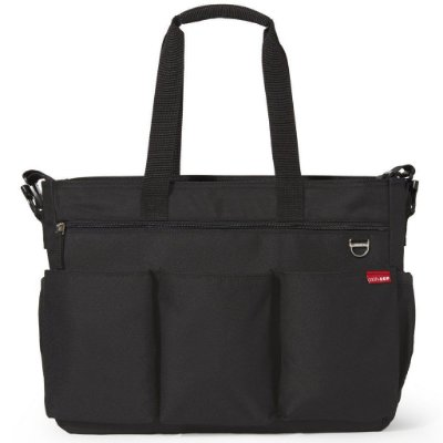 Bolsa Maternidade (Diaper Bag) com Trocador - Duo Double Signature Black - Skip Hop