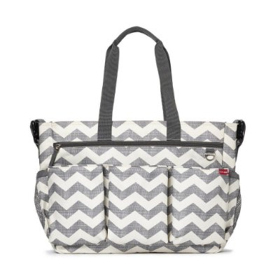 Bolsa Maternidade (Diaper Bag) com Trocador - Duo Double Signature Chevron - Skip Hop