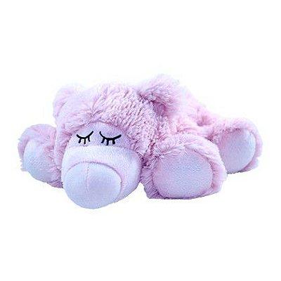 Pelúcia Térmica para Alívio das Cólicas e Aconchego com Aroma Calmante Ursinho Rosa - Cozy Plush