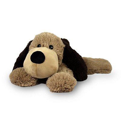 Pelúcia Térmica para Alívio das Cólicas e Aconchego com Aroma Calmante Cachorro Marrom - Cozy Plush