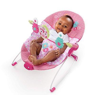 "Cadeira de Descanso Corujinha Feliz ""Pretty In Pink"" - Bright Stars"