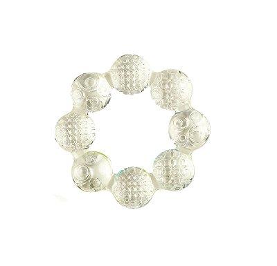 Mordedor Circular de Gel Polar (Freezer Safe) Branco - Bright Stars
