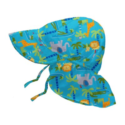 Chapéu de Banho Infantil Australiano com FPS +50 ZOO - iPlay