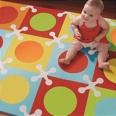 Tatame Infantil Playspot (Tapete de E.V.A) Colorido  - Skip Hop