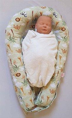 Ninho U-Baby Redutor de Berço Safari - Colo de Mãe