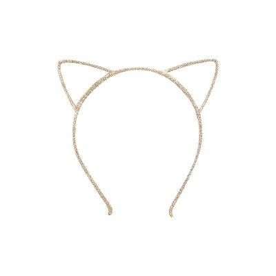 Tiara Infantil de Gatinho Dourado - Gumii