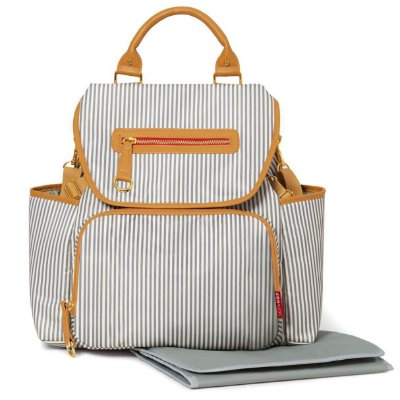 Bolsa Maternidade (Diaper Bag) com Trocador - Grand Central BackPack (Mochila) French Stripe - Skip Hop