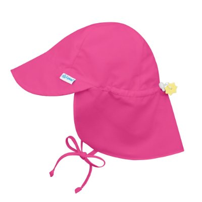 Chapéu de Banho Infantil Australiano com FPS +50 Rosa Pink - iPlay