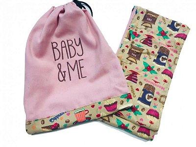 Cadeira de Pano Docinhos - Baby & Me