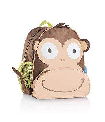 Mochila Infantil Little Buddys Macaco Caco - Multikids Baby