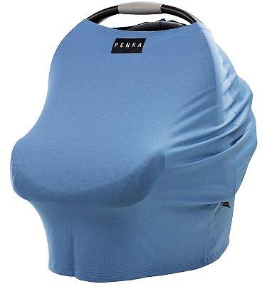 Capa Multifuncional para Mamãe e Bebê (5 funções) Azul Claro - Penka Cover
