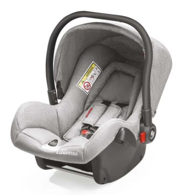 Bebê Conforto Heritage Fix 0 a 13Kg Cinza - Fisher Price