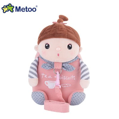 Mochila Infantil com Alça de Segurança Sweet Candy Bebe Rosa - Metoo