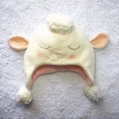 Gorro Infantil Ovelha - Leloo