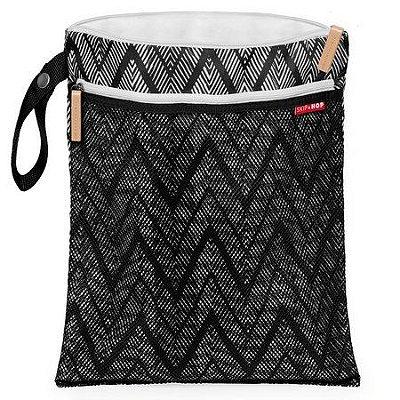 Bolsa Impermeável Wet & Dry Bag Zig Zag Zebra - Skip Hop