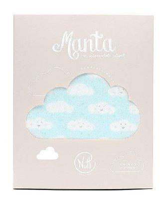Manta Protetora com Repelente Nuvem - Nutti