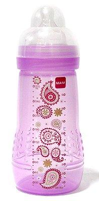Mamadeira Easy Active Fashion Bottle 270ml Menina - MAM