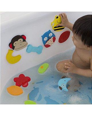 Brinquedo de Banho Emborrachados de Grudar e Misturar Personagens ZOO - Skip Hop