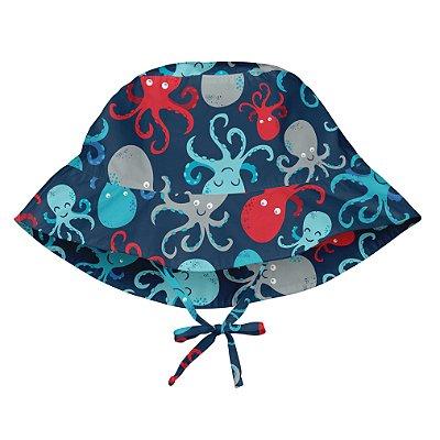 Chapéu de Banho Infantil com FPS +50 Polvo - iPlay