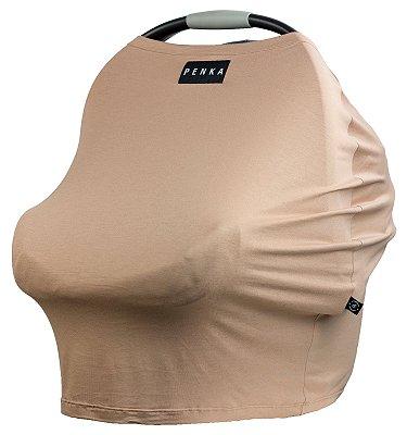 Capa Multifuncional para Mamãe e Bebê (5 funções) Nude - Penka Cover
