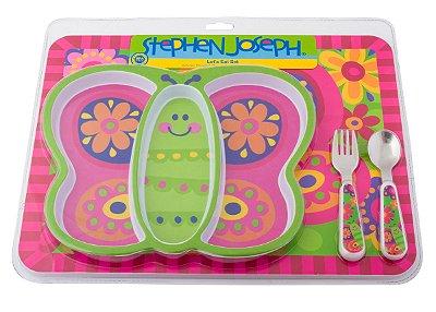Kit Alimentação Borboleta - Stephen Joseph