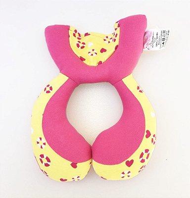 Almofada de Pescoço Bóia Rosa - Colo de Mãe