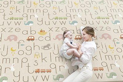 Tapete de Atividades Portátil Alfabeto - Girotondo Baby