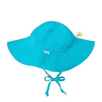 Chapéu de Banho Infantil com FPS +50 Azul Aqua - iPlay
