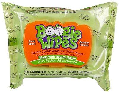Lenço Umedecido Boogie Wipes Anti Resfriado 30 Uni. REFRESCANTE