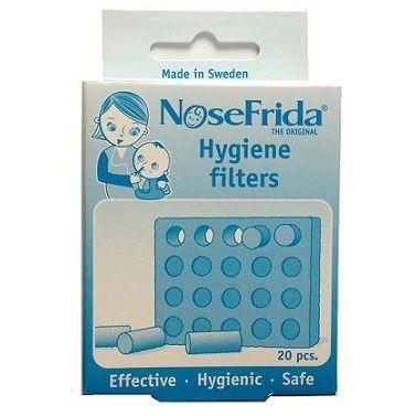 Refil de Filtro para Aspirador Nasal Nosefrida com 20 unidades