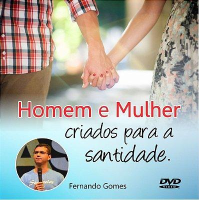 DVD Homem e Mulher Criados para a Santidade
