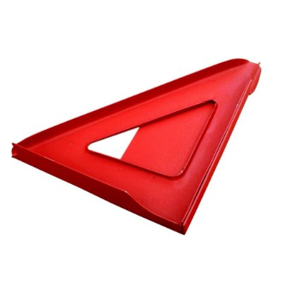 TRIANGULO DE REFORÇO DO CORTA FOGO ESQUERDO JEEP CJ5 CJ6 DO 1955 A 1983