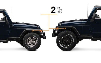 KIT LIFT  JEEP WRANGLER TJ COMPLETO 2""