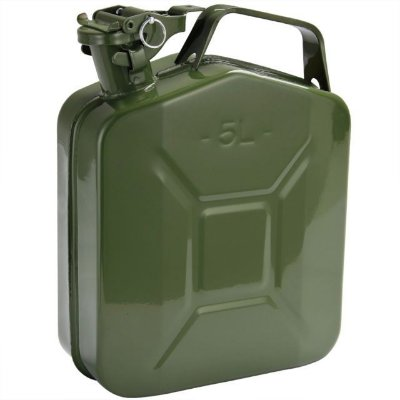 GALÃO DE METAL 5L 0.6MM JERRY CAN