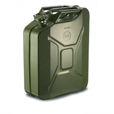 GALÃO DE METAL 20L 0.6MM JERRY CAN