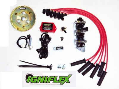 KIT IGNIFLEX FORD WILLYS 6C 2.6 3.0 BF161 *GASOLINA*