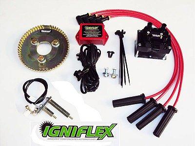 KIT IGNIFLEX FORD WYLLIS 4C 2.3 MOTOR OHC/Georgia - ALCOOL