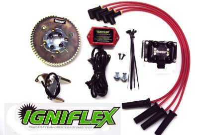 KIT IGNIFLEX VW AP 2.0 - CARBURADOS C/POLIA V - GASOLINA