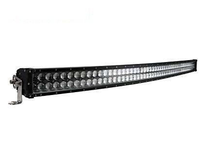 BARRA LED CURVA 288W 50 CREE LEDS LENTES 5D
