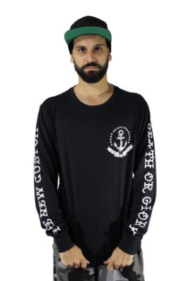 Camiseta Long sleeve New Custom Nautic