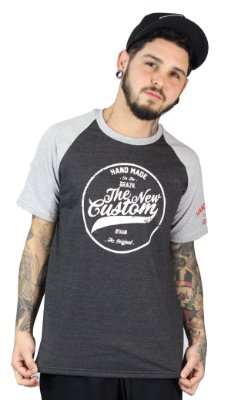 Camiseta Raglan  New Custom Hand Made