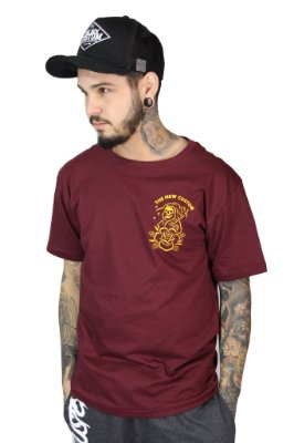 Camiseta  New Custom Reaper Bordo