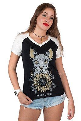 Camiseta Feminina Sphynx